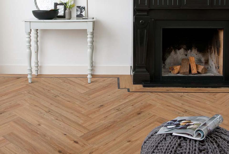 Eikenhouten Visgraat Vloer : Houten vloeren